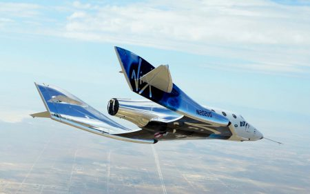 Космоплан Virgin Galactic VSS Unity начал «генеральную репетицию» перед полетами с включенным двигателем