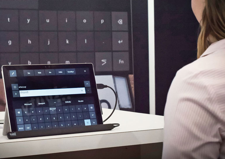 В Windows 10 появится возможность управления компьютером с помощью взгляда