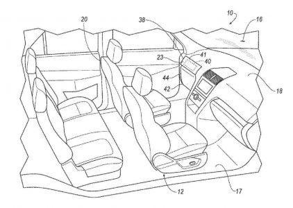 Ford запатентовал съемный руль и педали газа/тормоза для своих будущих беспилотных автомобилей