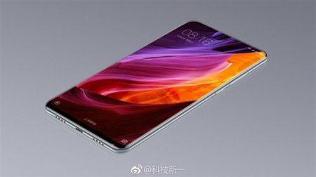 Прототип смартфона Xiaomi Mi Mix 2 содержит дисплей, который занимает почти всю лицевую панель