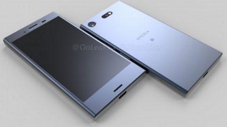 Компьютерная модель смартфона Sony Xperia XZ1 Compact запечатлена на видео