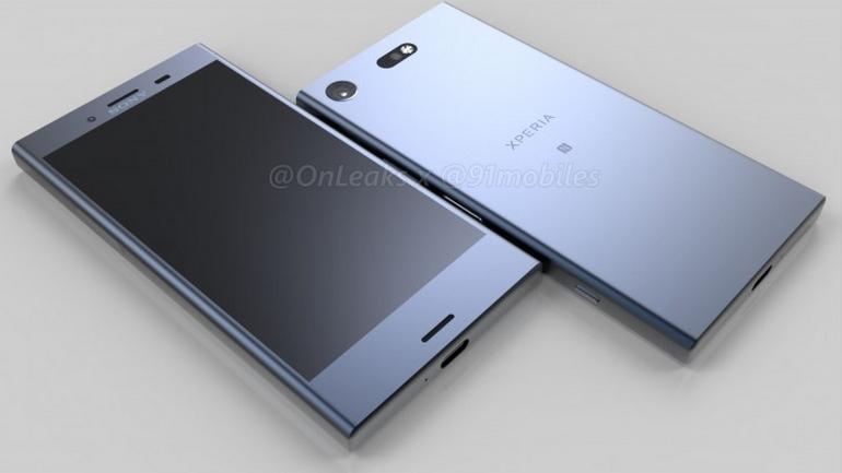 Вweb-сети интернет появились «живые» фотографии телефона Сони Xperia XZ1