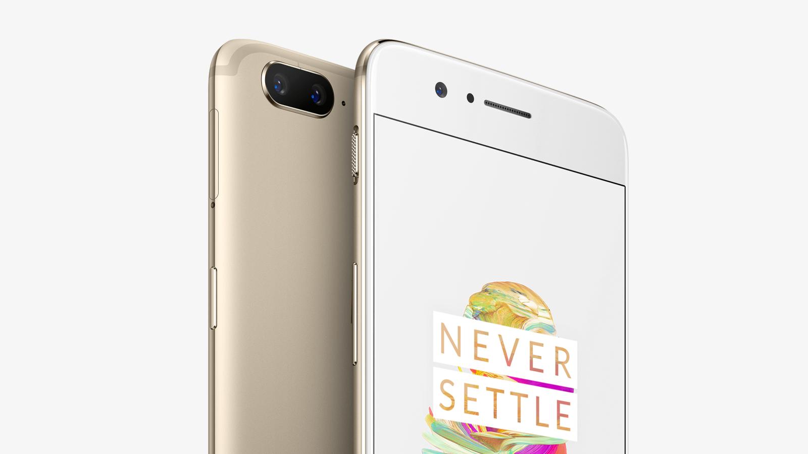 В реализацию поступила новая ограниченная расцветка OnePlus 5