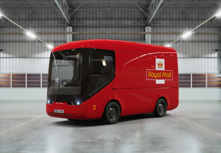 Британская почтовая служба Royal Mail начала тестировать потенциально автономные электрогрузовики Arrival