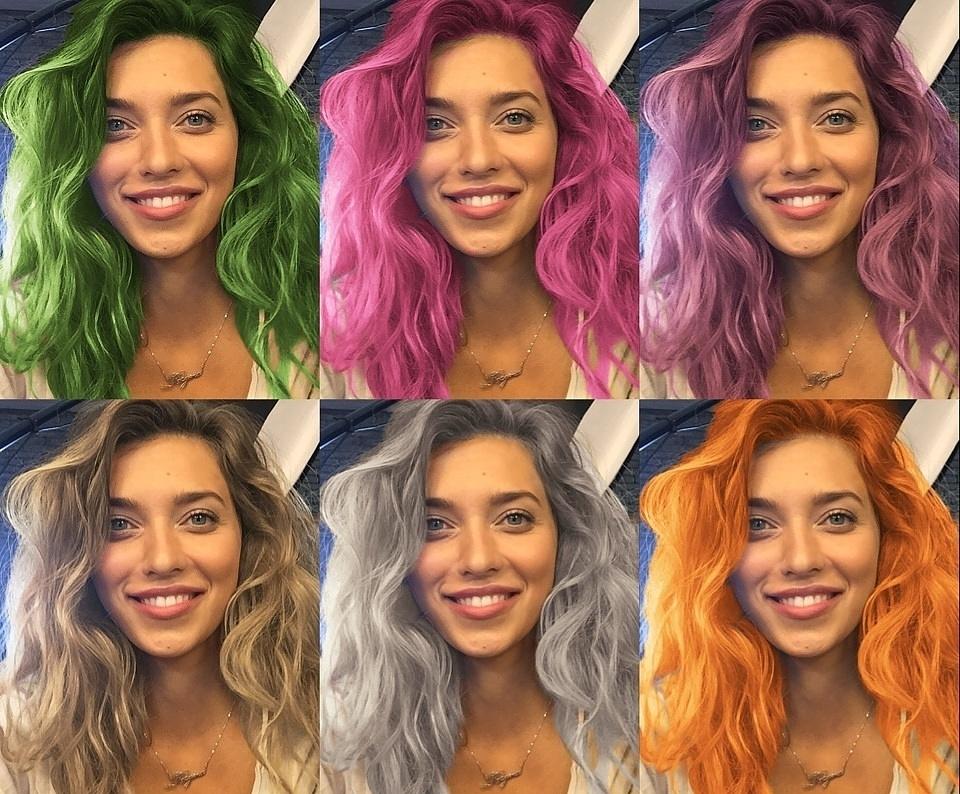 Teleport – новый «вирусный» фоторедактор на базе нейронных сетей, позволяющий естественно красить волосы в различные цвета