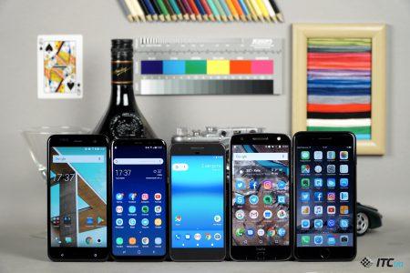 Итоги голосования: Камера Google Pixel против Galaxy S8, HTC U11, iPhone 7 Plus и Moto Z