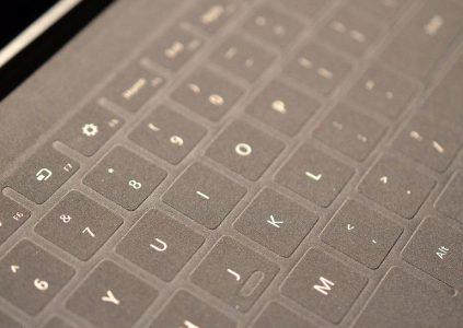 Microsoft «проговорилась» о клавиатуре Touch Cover для iPad