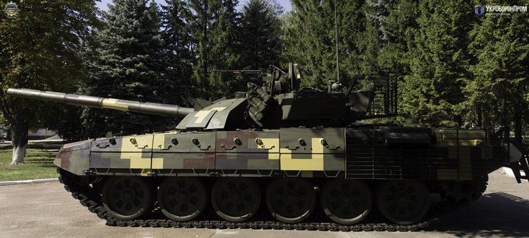 В Киеве покажут модернизированный танк Т-72АМТ с современными электронными системами и улучшенной защитой