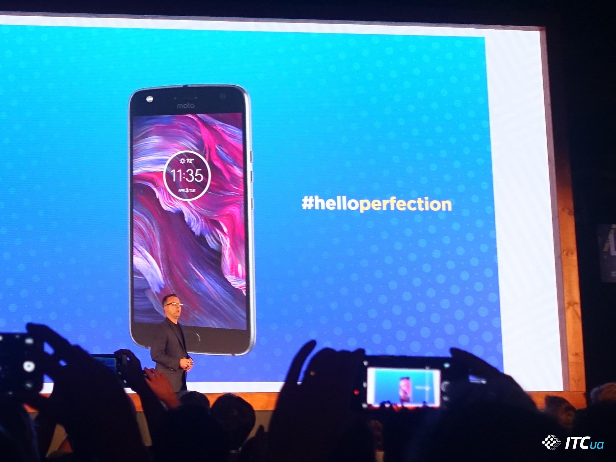 Motorola Moto X4— водонепроницаемый смартфон с3D-дизайном