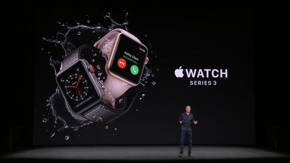 Уновых Apple Watch проблема сLTE