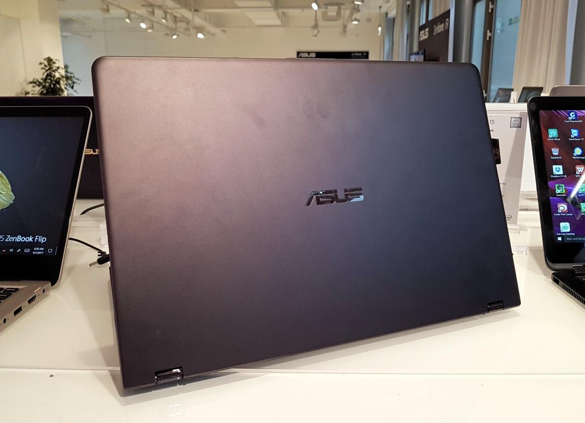 Первый взгляд на ноутбук ASUS ZenBook Flip 15