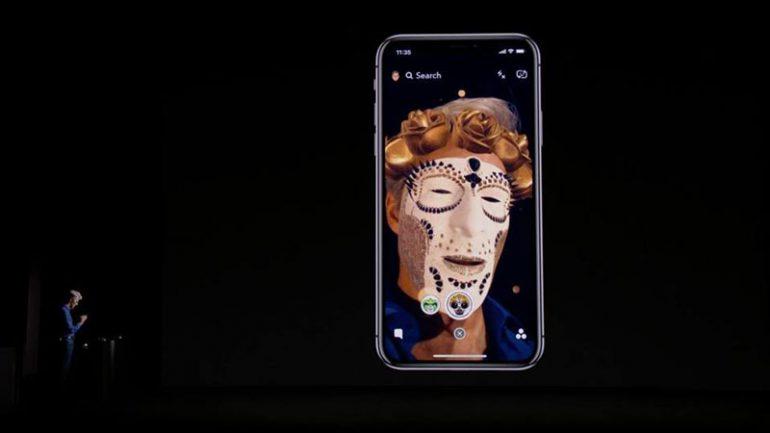 Улучшенные маски для iOS 11 разработала украинская команда Snap (ранее Looksery)