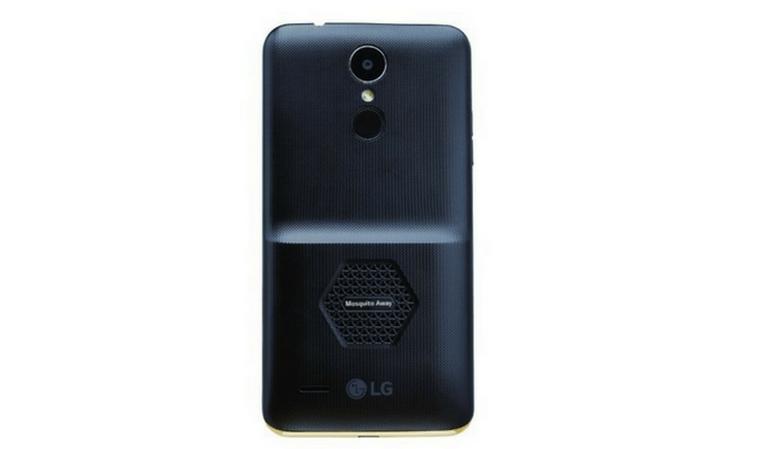 КомпанияLG представила 1-ый  вмире смартфон сфункцией отпугивания комаров