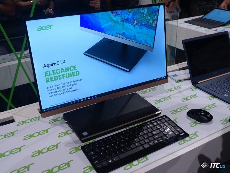 Немецкая смесь: Acer, Dell, Hisense, Panasonic, TP-Link и Verbatim на [IFA 2017]
