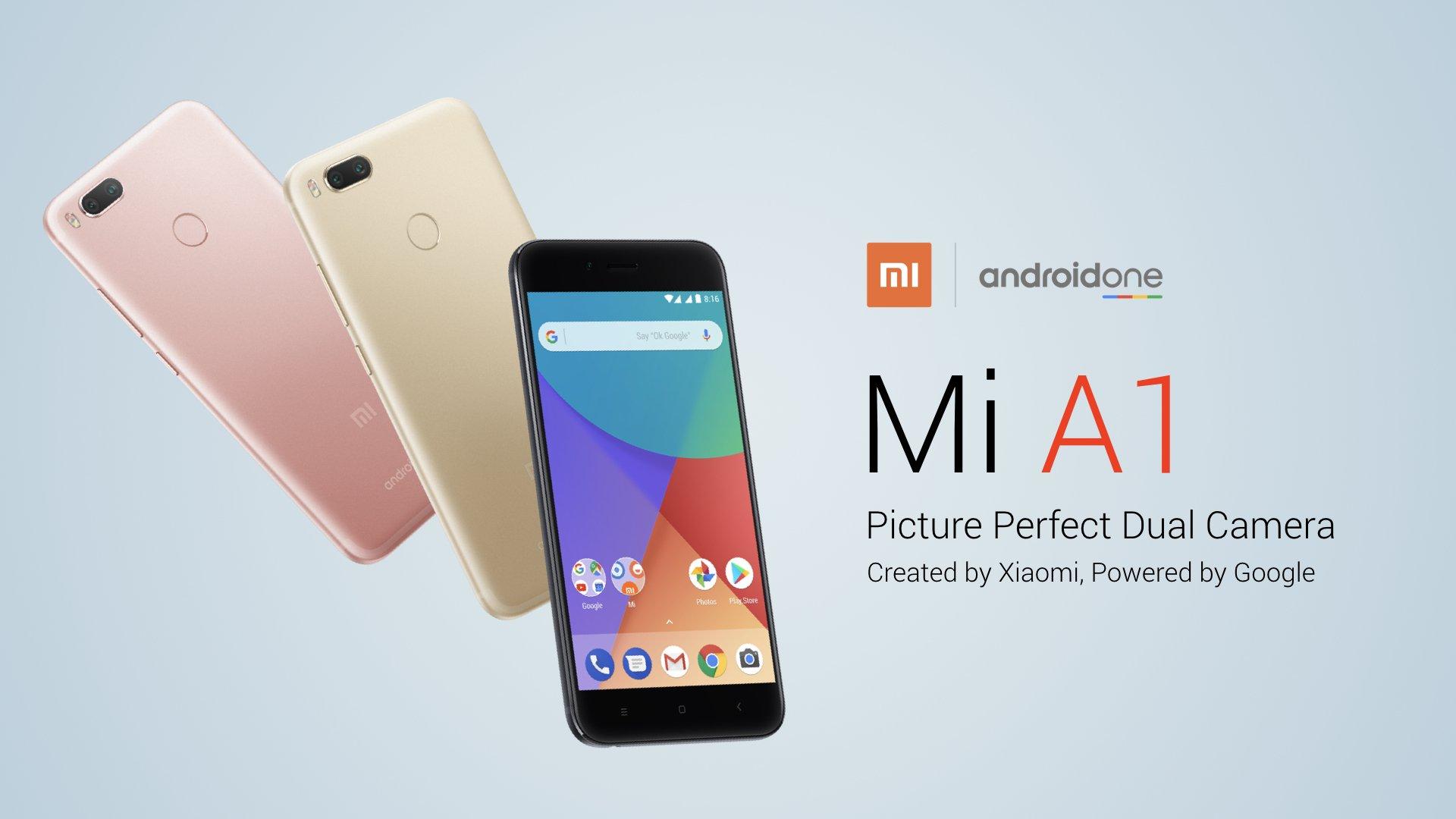 Xiaomi Mi A1 — первый смартфон производителя с «чистым» Android ... ae705e11e7181
