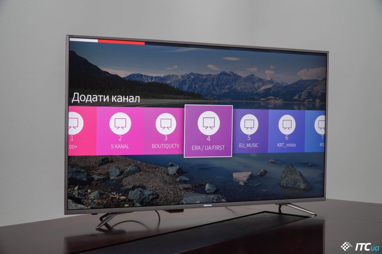 Обзор телевизора Hisense 55M7030UWG