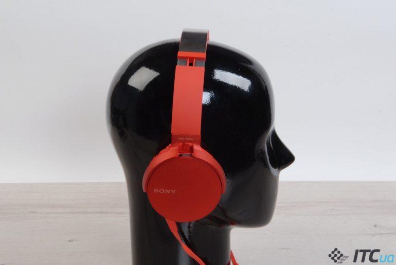 Экспресс-обзор накладных наушников Sony MDR-XB550AP