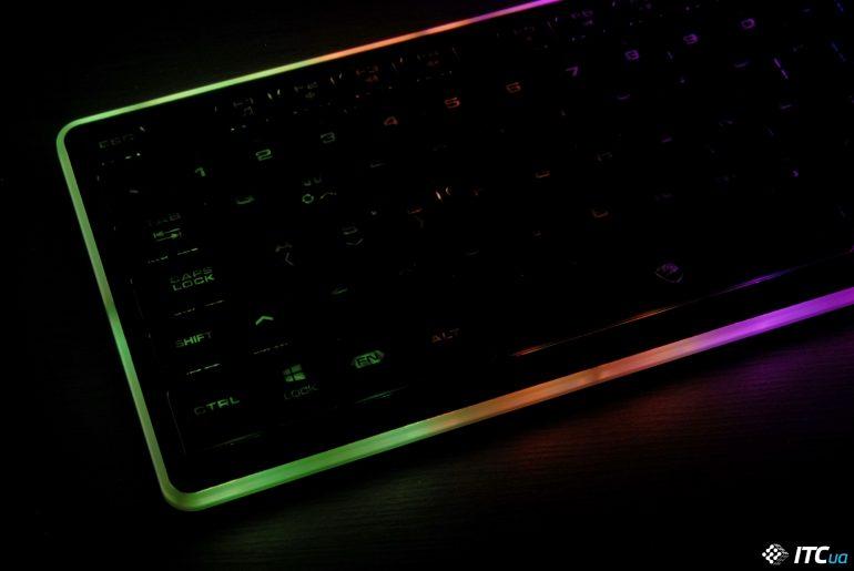 Обзор игровой клавиатуры Cougar Vantar