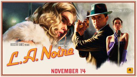 Rockstar выпустит обновленную версию криминальной драмы L.A. Noire на платформах Xbox One, PlayStation 4, Nintendo Switch и HTC Vive (The VR Case Files)