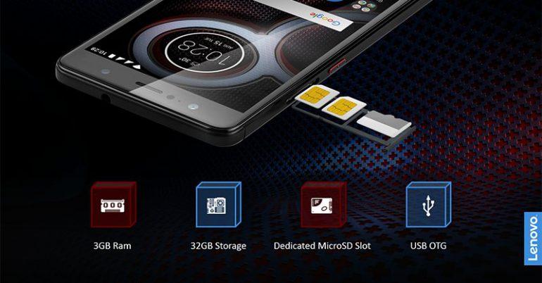 Lenovo анонсировала мобильные телефоны K8 иK8 Plus