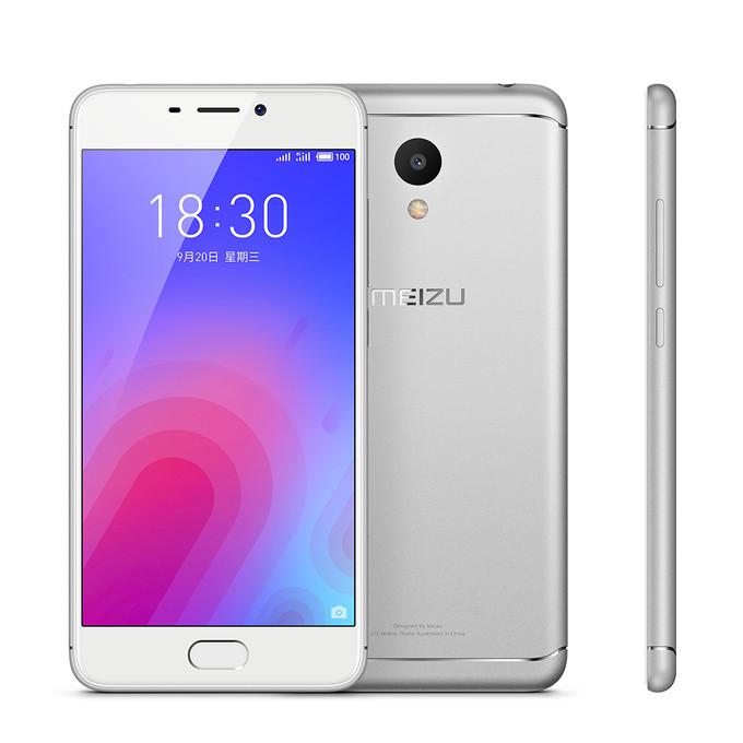 Представлен смартфон Meizu M6 с 5,2-дюймовым экраном, процессором Mediatek MT6750, батареей на 3070 мАч и ценой от $105