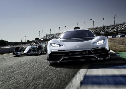 """""""350 км/ч и 6 секунд до 200 км/ч"""": Представлен гибридный гиперкар Mercedes-AMG Project ONE  стоимостью $2,5 млн с двигателем болида Formula 1 и четырьмя электромоторами"""