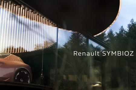 Французы представят концепт беспилотного электромобиля будущего Renault Symbioz на Франкфуртском автошоу