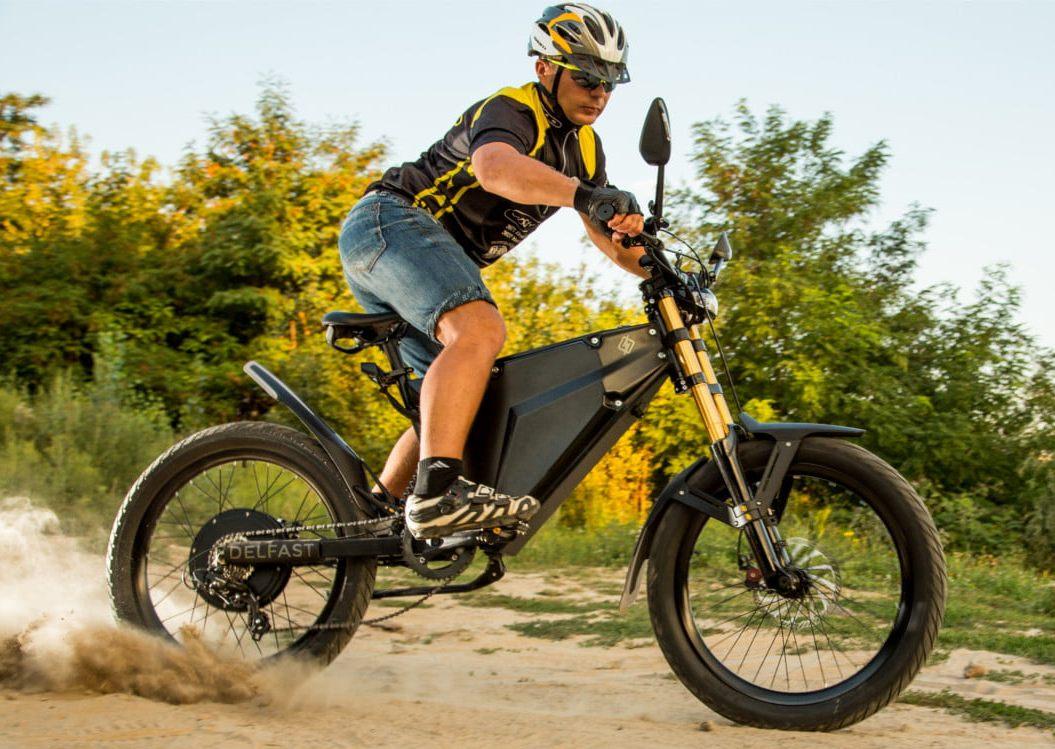 Будет соперничать сTesla! Украинцы создали гибрид мотоцикла ивелосипеда
