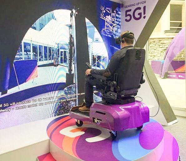 Telia, Ericsson и Intel провели первую в Европе публичную демонстрацию 5G, обеспечив интернетом пассажиров круизного лайнера и подключив к виртуальной реальности экскаваторщика