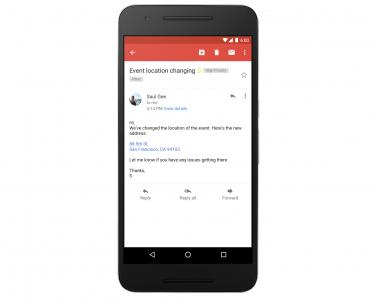 Gmail наконец-то научился распознавать и преобразовывать телефонные номера, адреса и контакты в ссылки