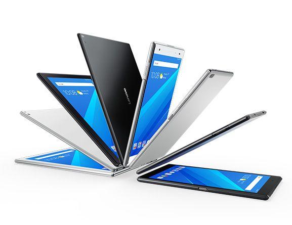 Lenovo выпустила четыре новых планшета под управлением ОС Android Nougat