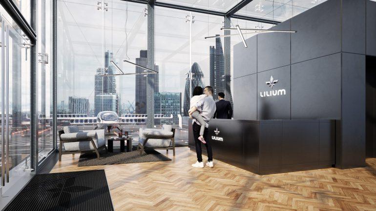Разработчики летающего такси Lilium Jet получили $90 млн инвестиций на разработку коммерческой пятиместной модели