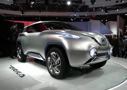 """Nissan создал электрокроссовер """"чуть больше Qashqai"""" на платформе нового Leaf, покажет его на Токийском автошоу в октябре и запустит в серию в 2019 году"""
