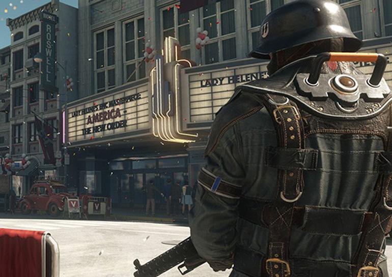 Вышел геймплейный трейлер игры WolfensteinII: The New Colossus