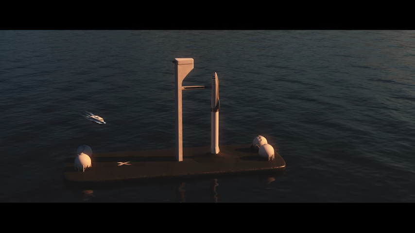BFR с Морского старта