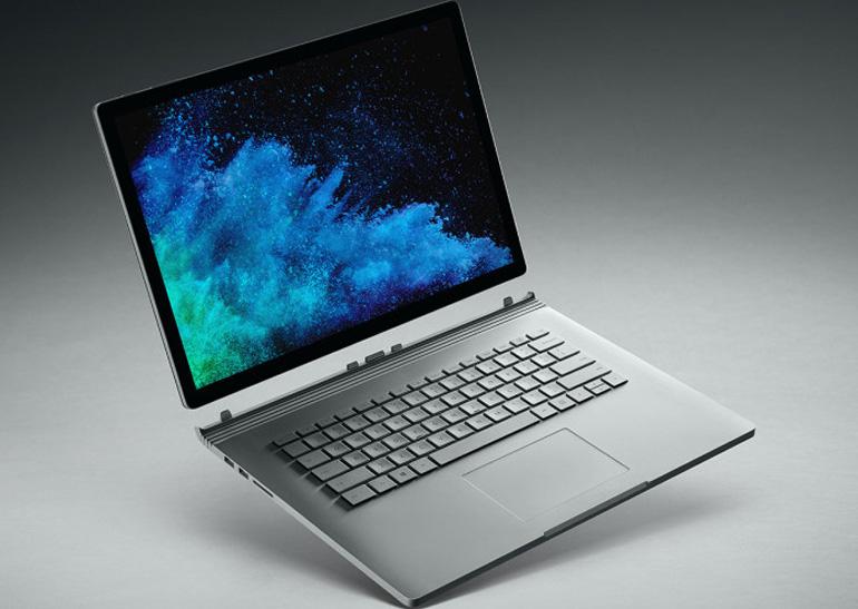 Microsoft представила Surface Book 2