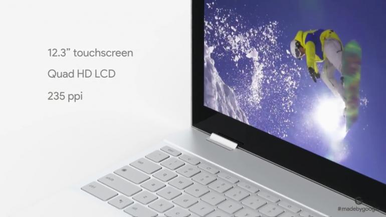 Хромбук-трансформер Google Pixelbook получил сенсорный 12,3-дюймовый дисплей, процессоры Intel Core i5/i7, встроенный Assistant и ценник от $999 (а также стилус Pixelbook Pen за $99)