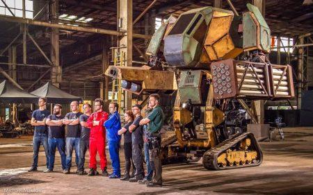 Первый бой гигантских роботов MegaBots (США) и Suidobashi (Япония) уже состоялся, но зрителям его покажут только 17 октября