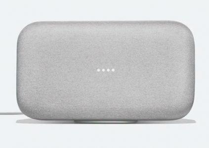 Google анонсировала умную колонку Google Home Max