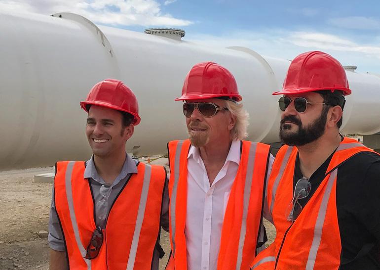 Virgin Hyperloop One начнет в2019-м строить скоростную линию