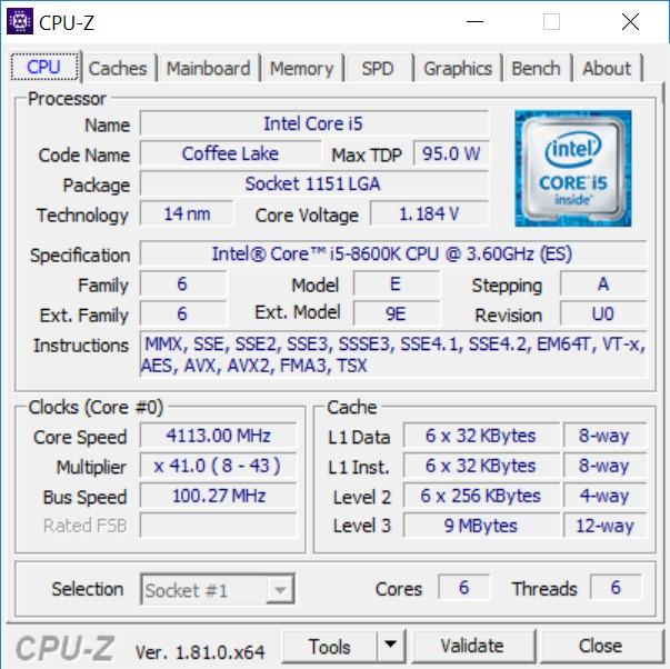 Обзор Intel Core i5-8600K: 6-ядерный процессор за $250