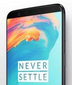 Появилось качественное изображение смартфона OnePlus 5T и фото, сделанное на его камеру в портретном режиме