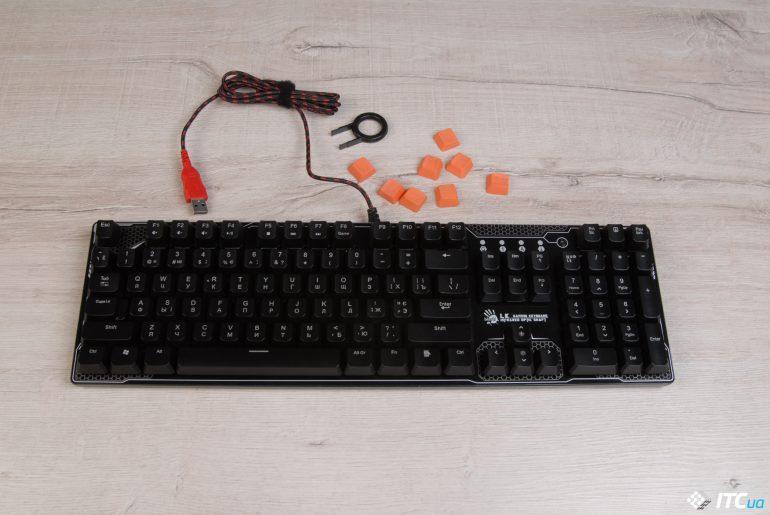Обзор механических клавиатур A4Tech Bloody B810R и B830
