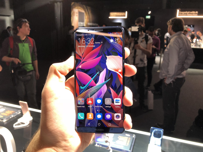 Представлена флагманська лінійка смартфонів Huawei Mate 10
