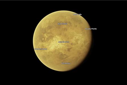 На картах Google Maps теперь есть большинство планет и спутников Солнечной системы