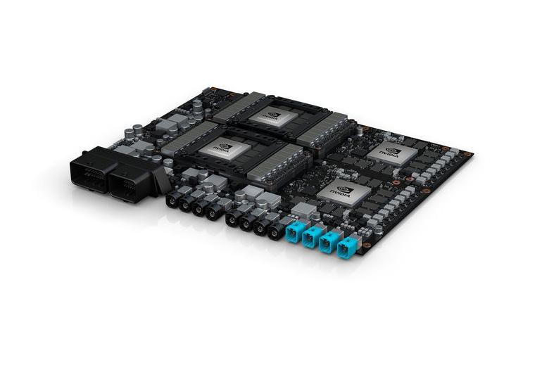 NVIDIA Pegasus — суперкомпьютер для самоуправляемых автомобилей 5-го уровня, способный выполнять 320 трлн операций в секунду