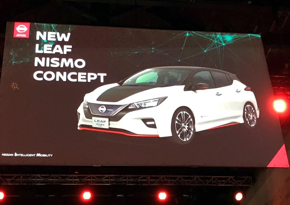 Nissan подтвердил дебют горячей версии электромобиля New LEAF Nismo Concept на Токийском автосалоне и рассказал о специальной версии LEAF