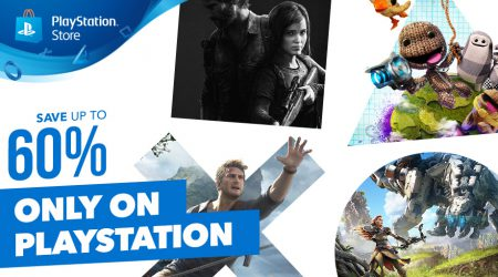 """В PlayStation Store стартовала распродажа """"Only on PlayStation"""" со скидками на игры для PS4, PS3 и PS Vita до 60%"""