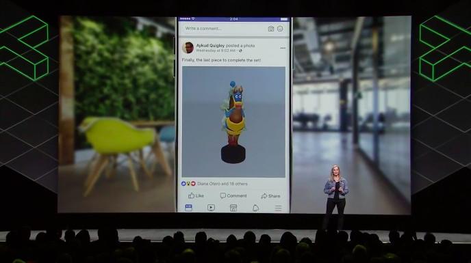 Переработанный пользовательский интерфейс гарнитуры Oculus и новые возможности VR-приложения Facebook Spaces [Oculus Connect 4]