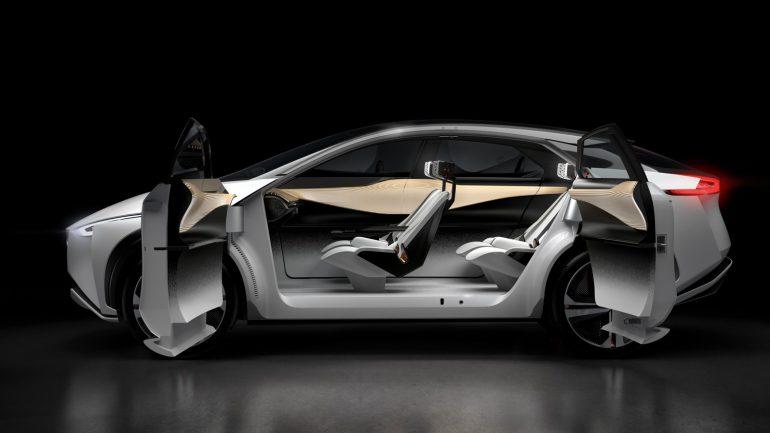 Nissan IMx — концепт электрического кроссовера с запасом хода 600 км и полностью автономной системой вождения ProPILOT